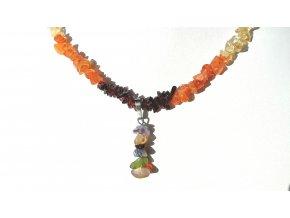 Čakrový náhrdelník s přívěskem