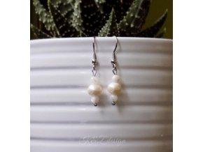 542 nezne nausnice s ricnimi perlami a perleti