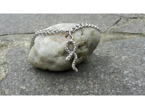 1758 snake nakotnik s hadem ocel