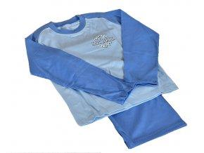 Dětské pyžamo vel.134 modré, 1 ks