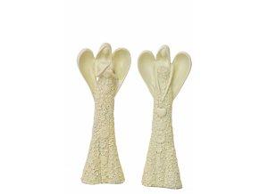 Anděl Flo krémový 31,5 cm, mix druhů