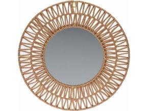 Nástěnné zrcadlo Natur paper 45 cm