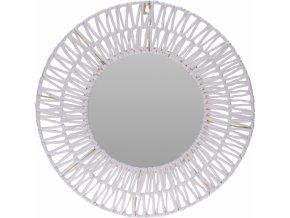 Nástěnné zrcadlo White paper 45 cm