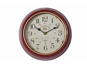 Kovové nástěnné hodiny PARIS 24,5 cm