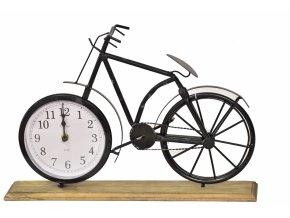 Hodiny na postavení Bicykl II. jakost