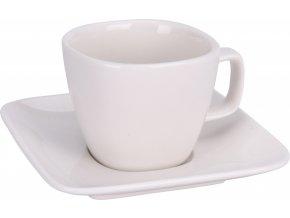Hrnek s podtalířkem White espresso 100 ml
