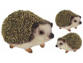 Dekorativní ježek 8x9,5x14,5 cm, mix druhů