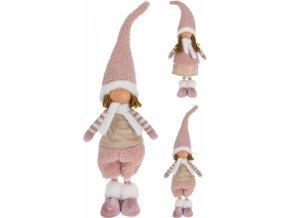Látková figurka holka, kluk 56 cm