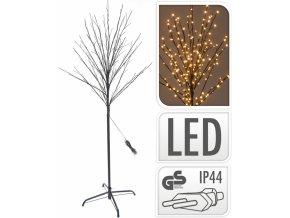 Svítící strom 150 cm, 200 LED, teplá bílá