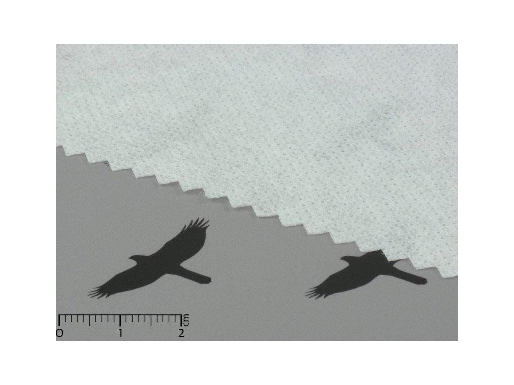 Novopast bílý-vlizelín-výztuha-metráž 60+18g/m2