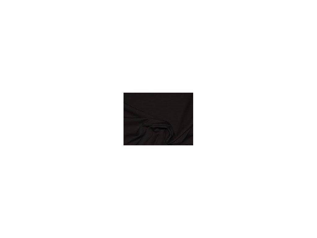 Softshell jednobarevný-softshell-černá metráž