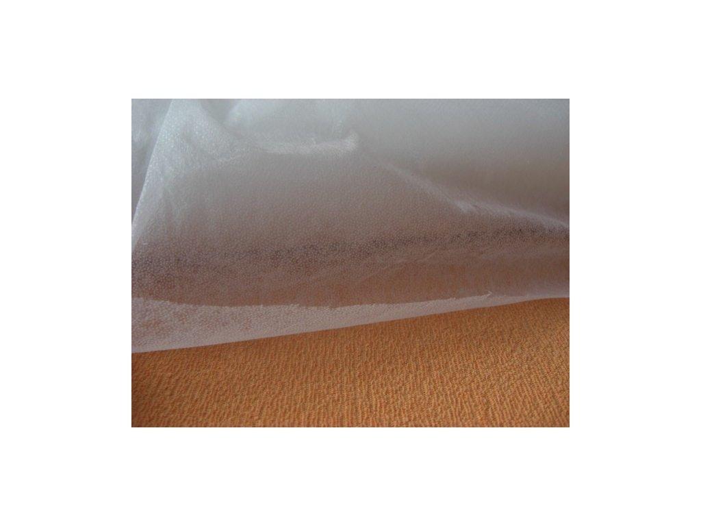 Novopast bílý-vlizelín-výztuha-metráž 20+15g/m2