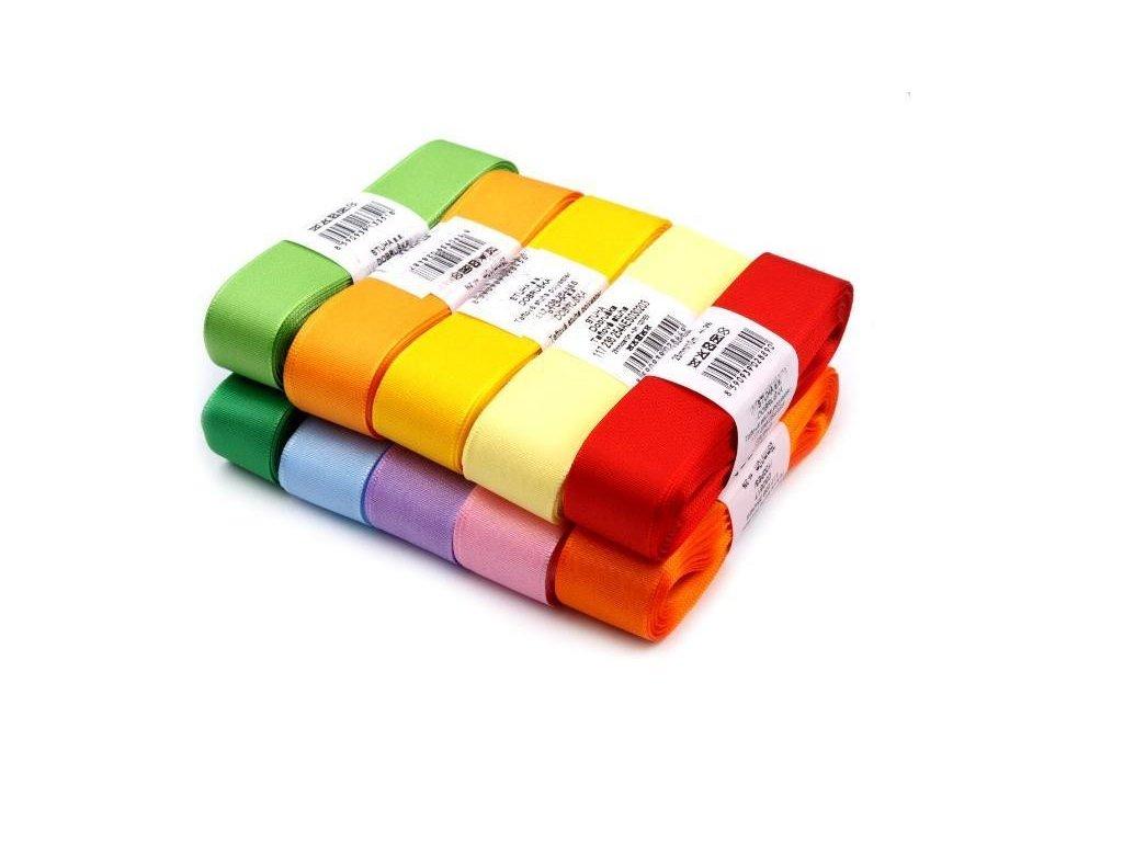 Stuha taftová 25mm - různé barvy
