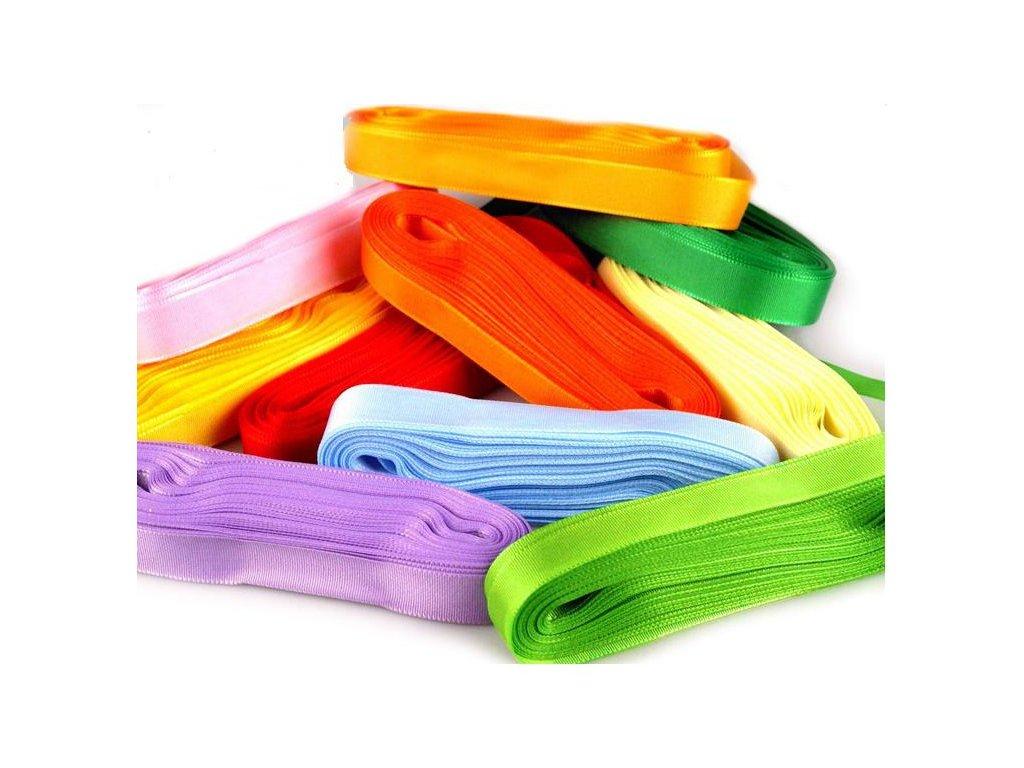 Stuha taftová 6mm - různé barvy