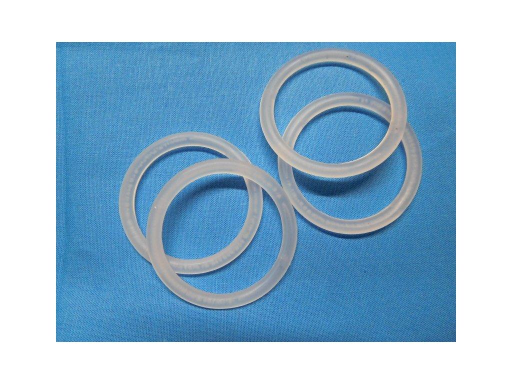 Kroužky na záclony-plastové čiré 40mm