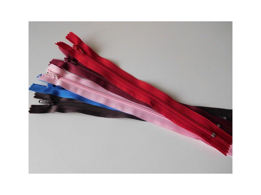 Zip - zdrhovadlo plast - 20cm