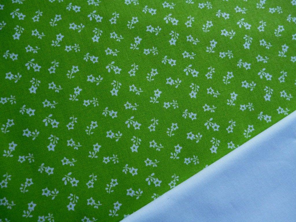 a35b65874f64 bile kyticky zelena latka kombinace latky
