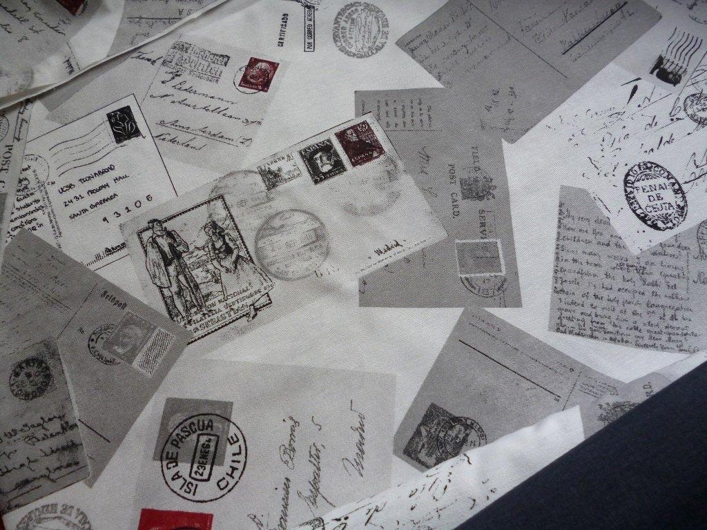 dopisy znamky post cards kombi