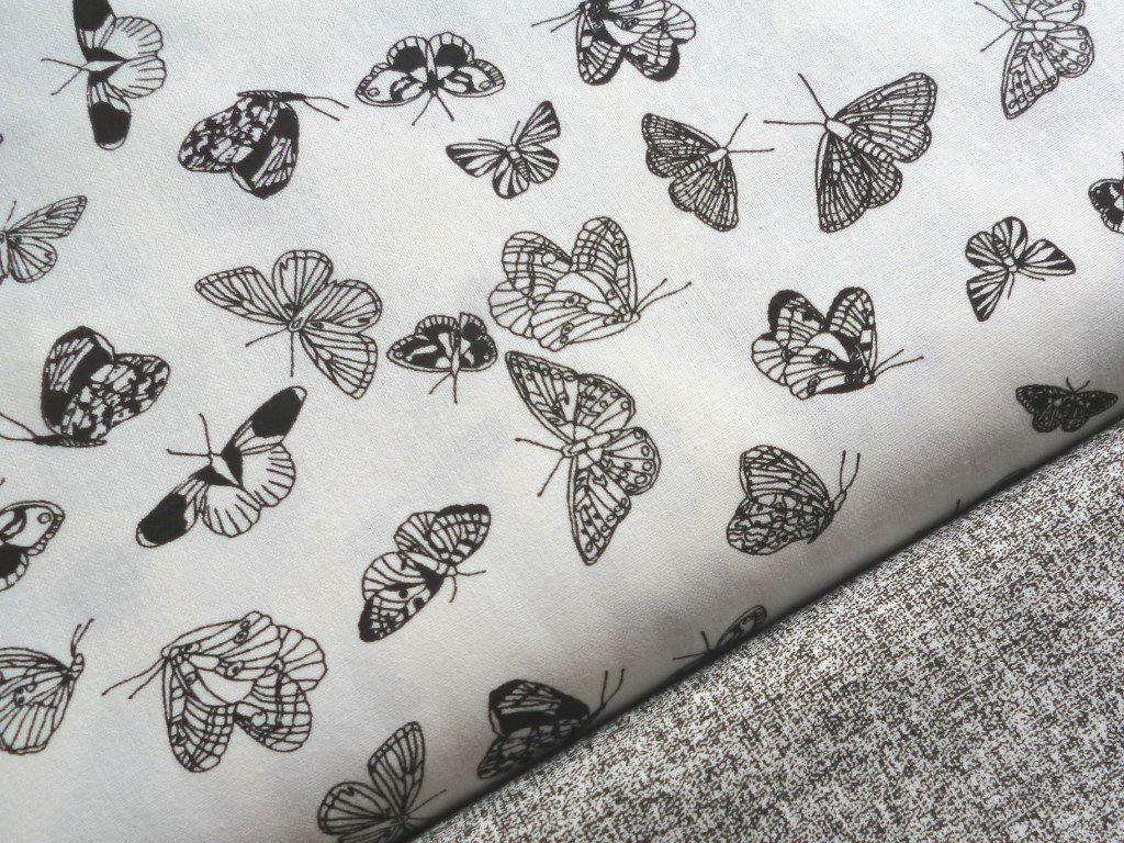 cerni motylci bila latka kombi