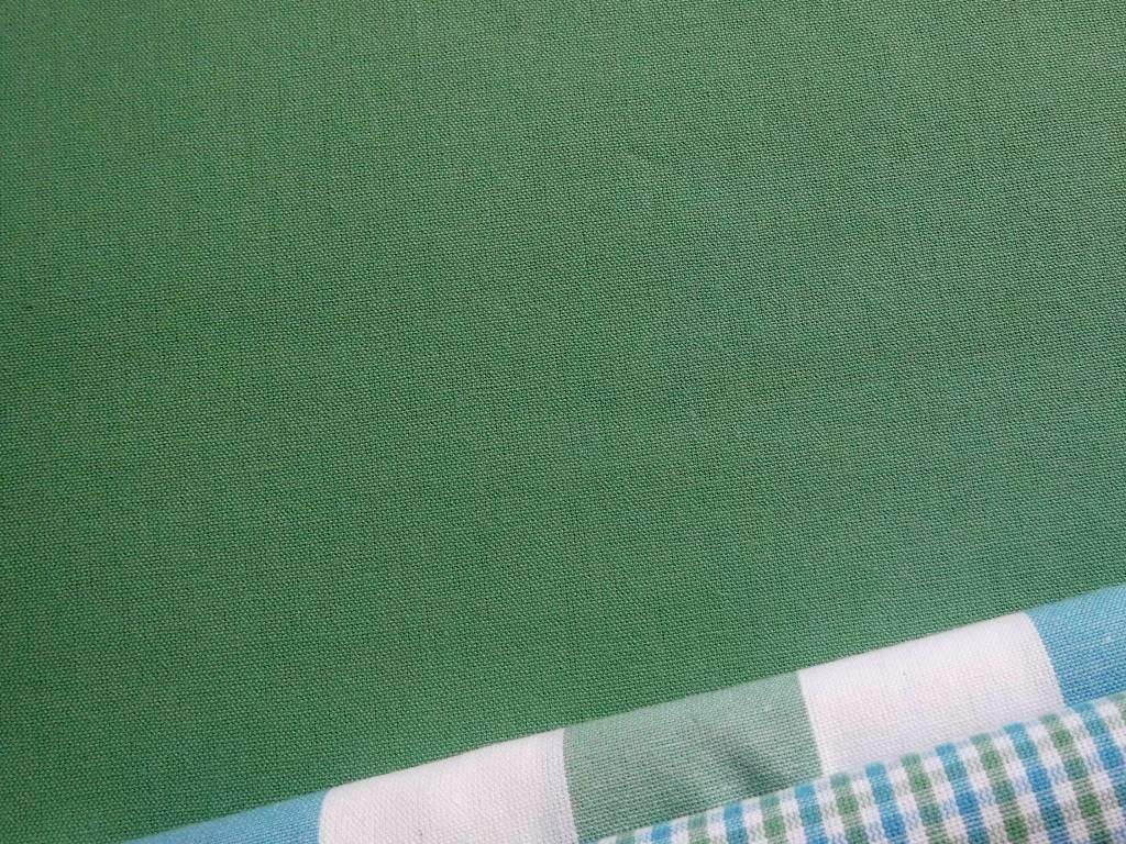 kanafas zelena pastelova jednobarevna kombi
