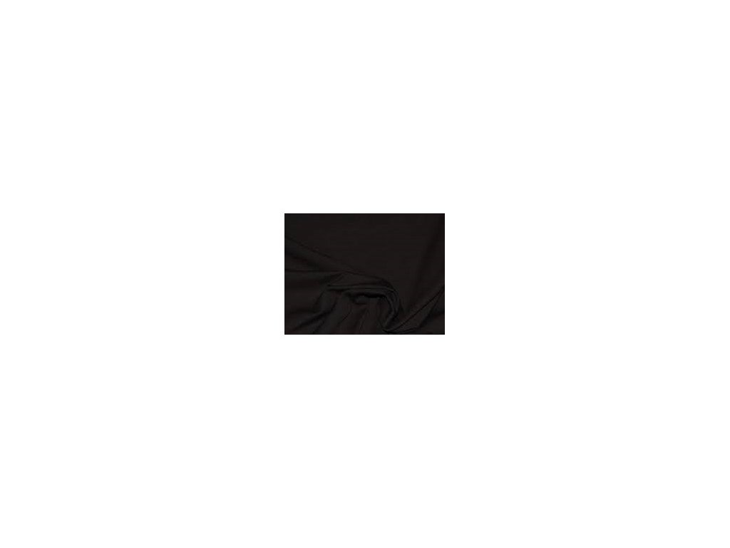 ZBYTEK 0,58 m - Softshell jednobarevný-softshell-černá metráž