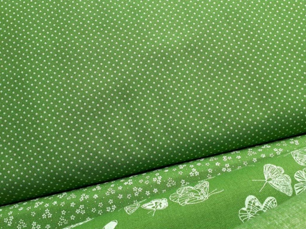 bile punticky zelena jarni latka velikonoce metraz kombi2