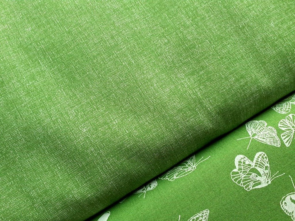 zelena rezna lp lneny efekt k motylkum puntickum jaro velikonoce2