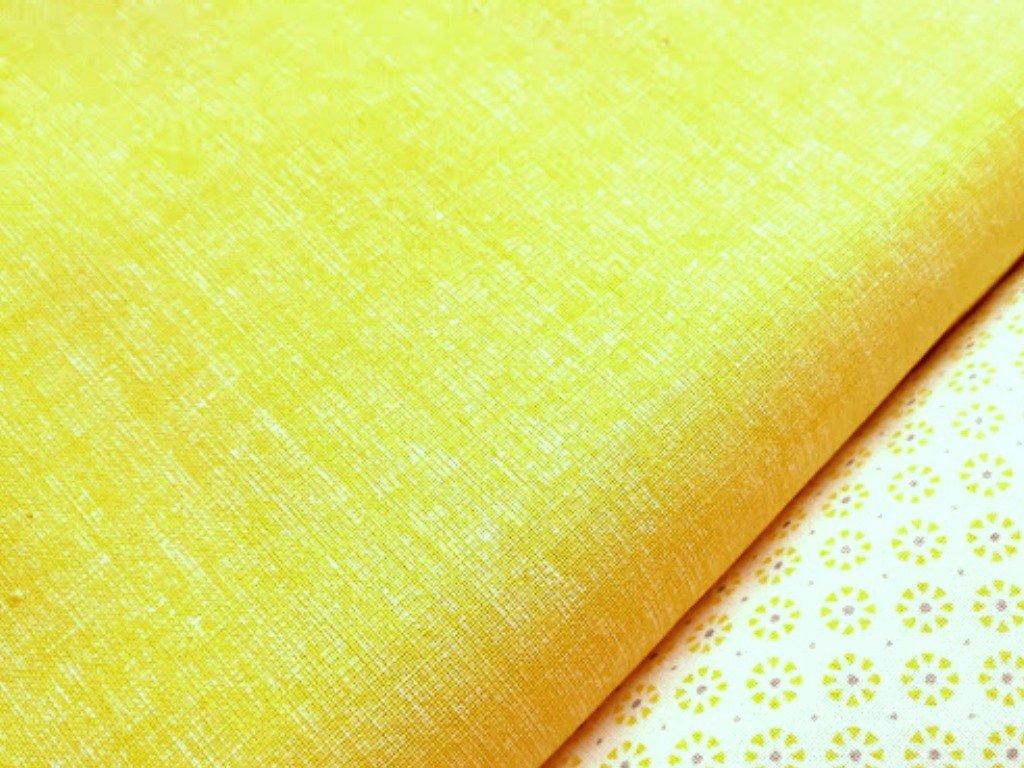 zluta rezna lp pantone metraz platno bavlna2