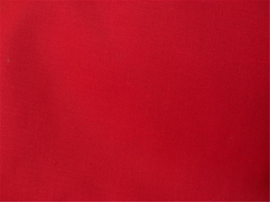kanafas jednobarevny cervena latka platno bavlna