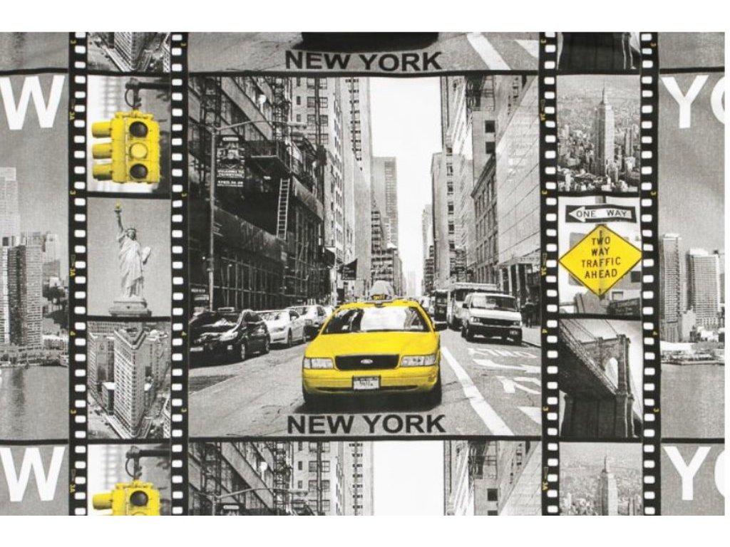 new york platno metraz bavlna 160