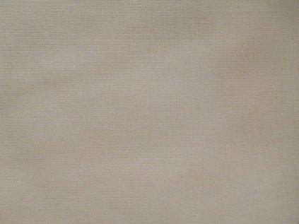 Smetanová látka-plátno-bavlna