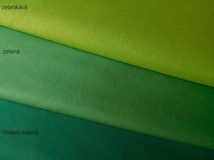 Zelená látka-plátno-bavlna
