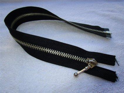 Zip - zdrhovadlo - černý - kovový - různé délky