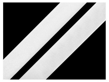 Suchý zip komplet-bílý-20mm