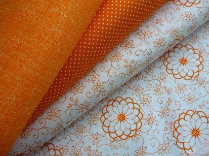 P1020584 upraveno pro e shop oranžový lněný efekt kombinace