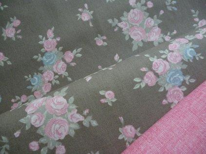 P1050345 Francouzské růže kombinace s růžovou