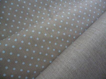 P1050366 sv.modré puntíky béžová látka s LP