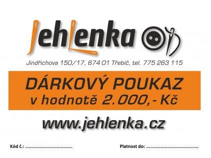 darkovy poukaz 2000 kc jehlenka latky2