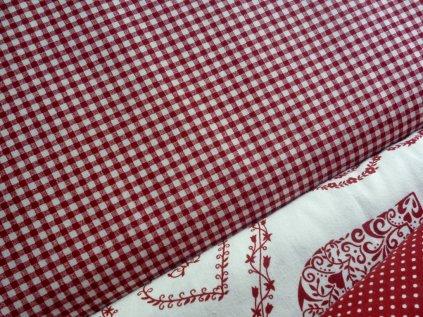 kosticka pepito cervena bila kombi