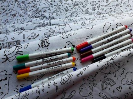 fixy na textil vice barev
