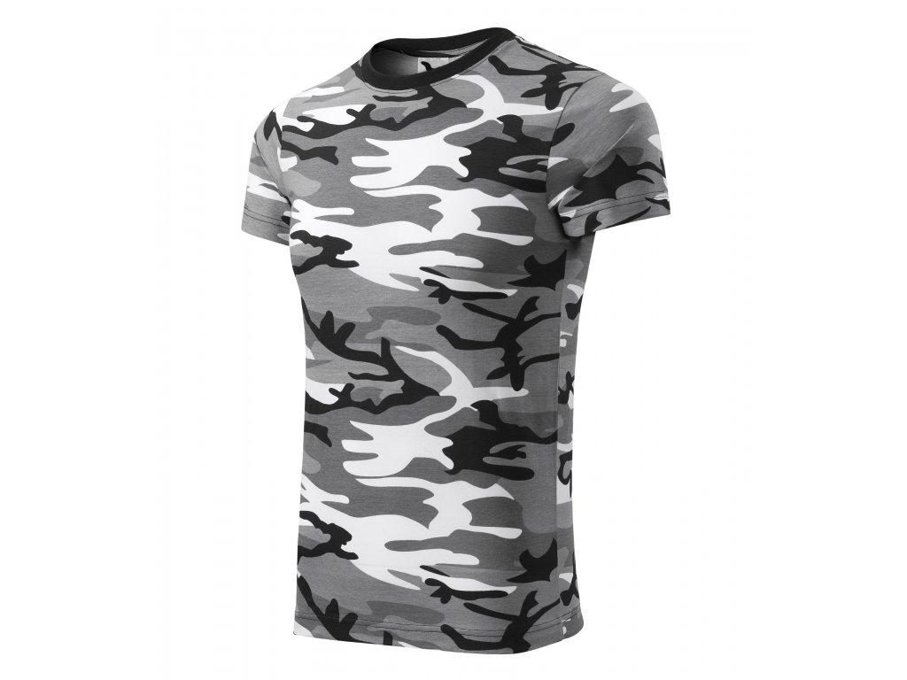 Camouflage tričko unisex
