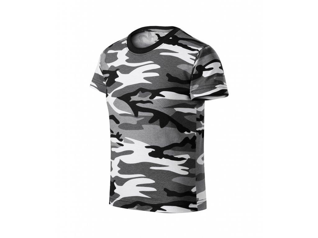 Camouflage dětské tričko