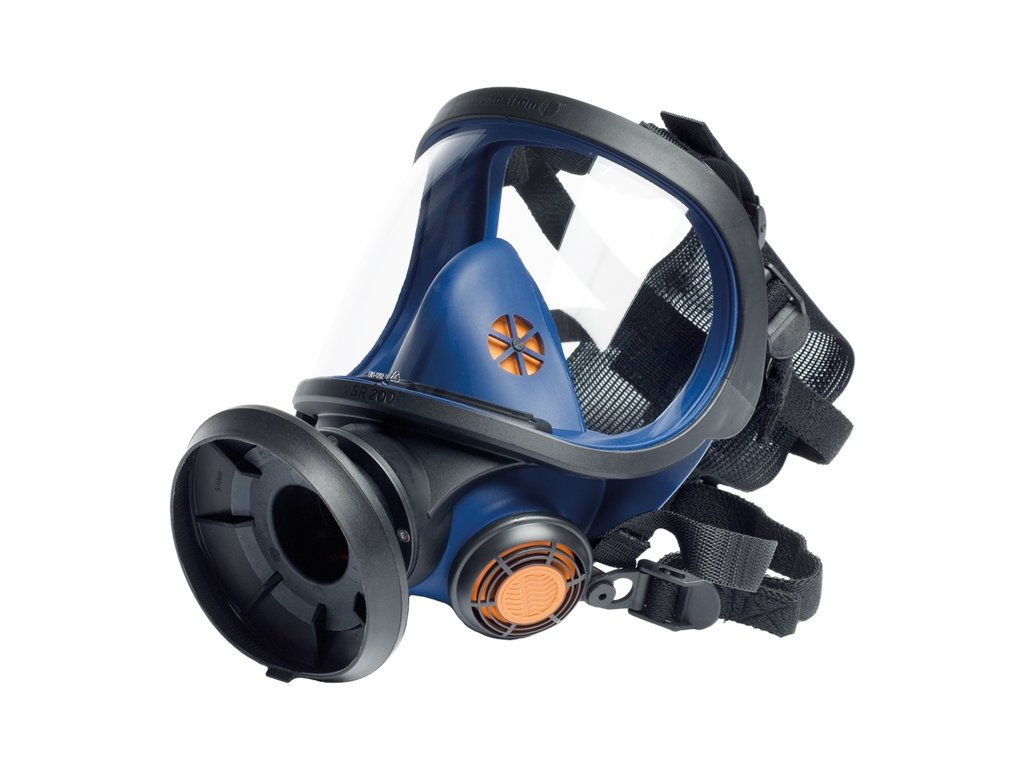 SR 200 celoobličejová maska, PC zorník
