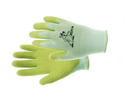 FUDGE  rukavice nylon. latex. dl zelená 4