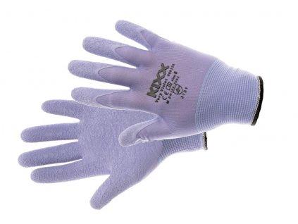 VERY VIOLET rukavice nylon. la fialová 8