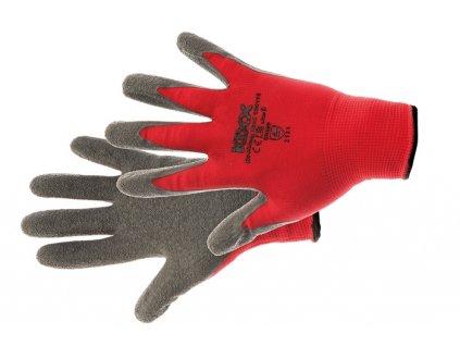 ROCKING RED rukavice nylon. la červená 6