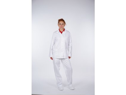 Pracovní kalhoty dámské bílé