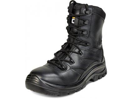 BK O2 SRC poloholeňová obuv