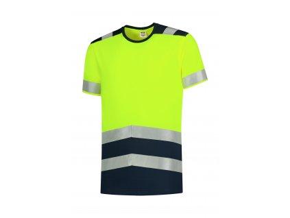 T-Shirt High Vis Bicolor