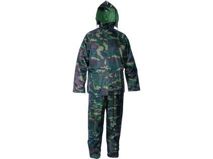 Voděodolný oblek CXS PROFI, maskáčový